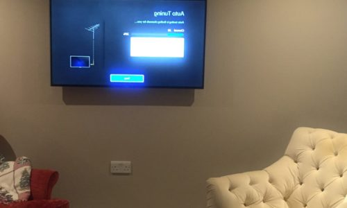 Television-Mounting
